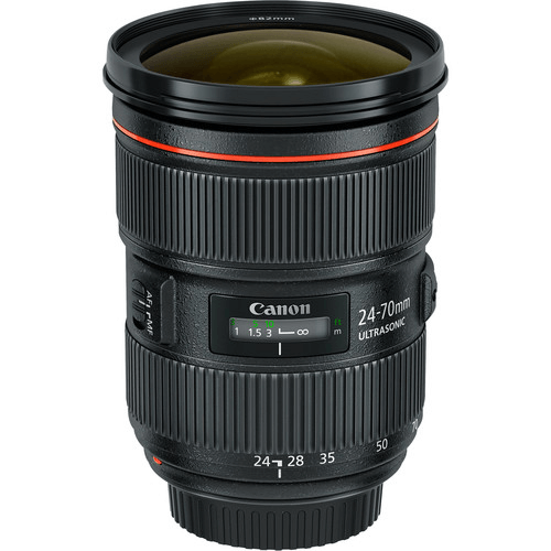 Best Canon Camera Lenses - Canon EF 24-70mm f2.8L II USM