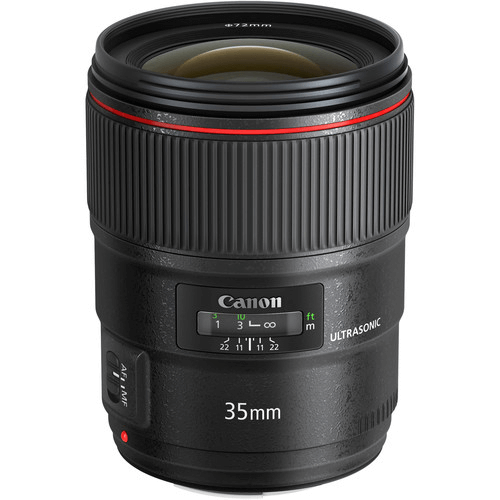 Best Canon Camera Lenses - Canon EF 35mm f1.4L II USM
