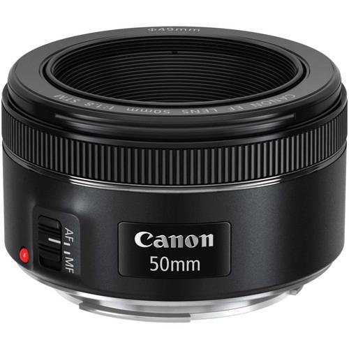 Best Canon Camera Lenses - Canon EF 50mm f1.8L STM