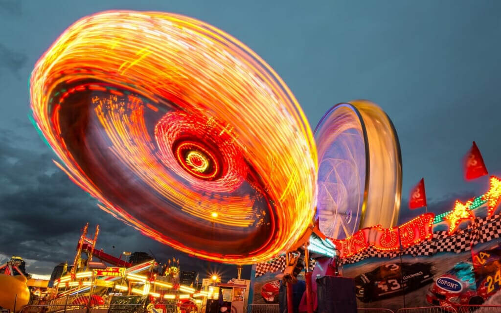 How to create motion blur in inventive ways