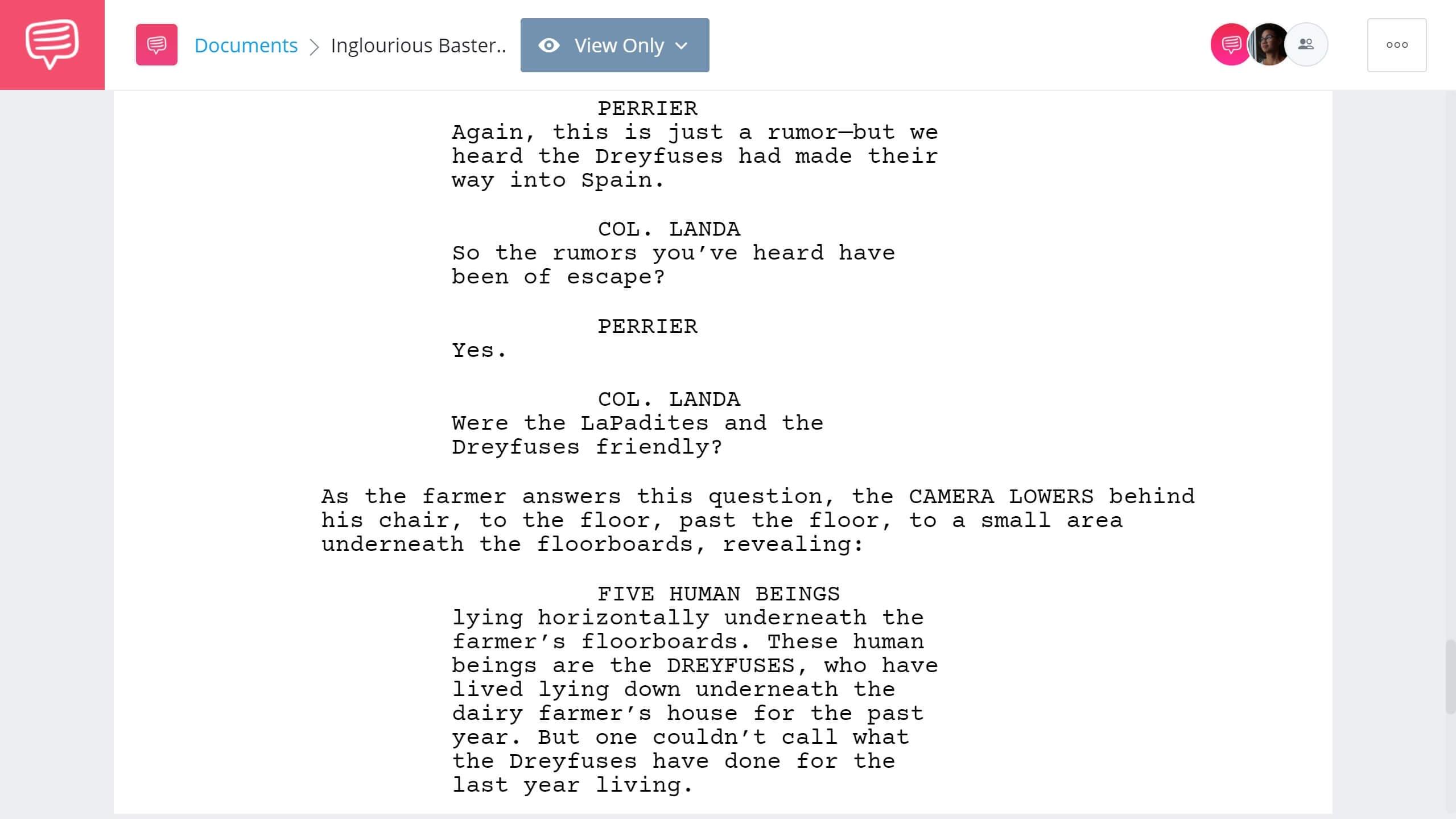 Inglorious Basterds Script Teardown - Intro - StudioBinder Screenwriting Software