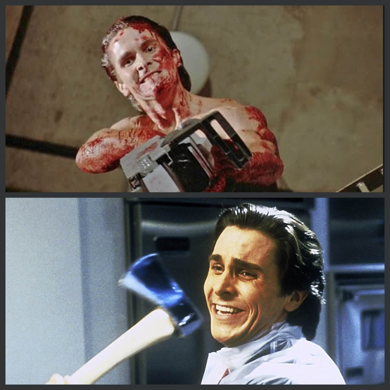 Different Patrick Bateman in Different Situations