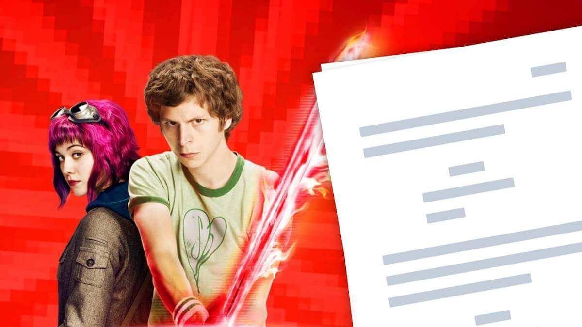 Scott Pilgrim vs the World — Script PDF Download and Analysis - StudioBinder