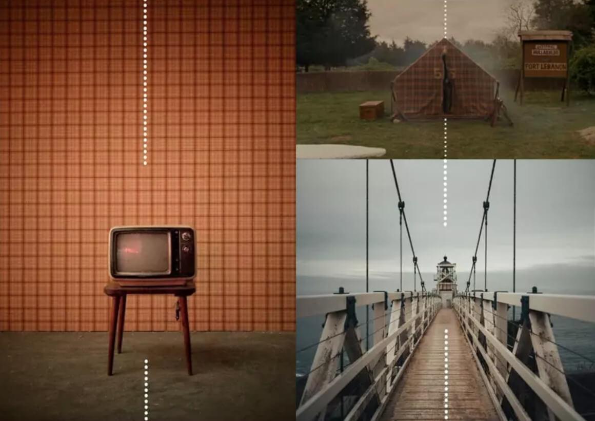 Wes Anderson's Film lookbook examples