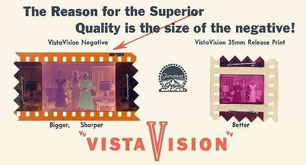 What is VistaVision - VistaVision aspect ratio