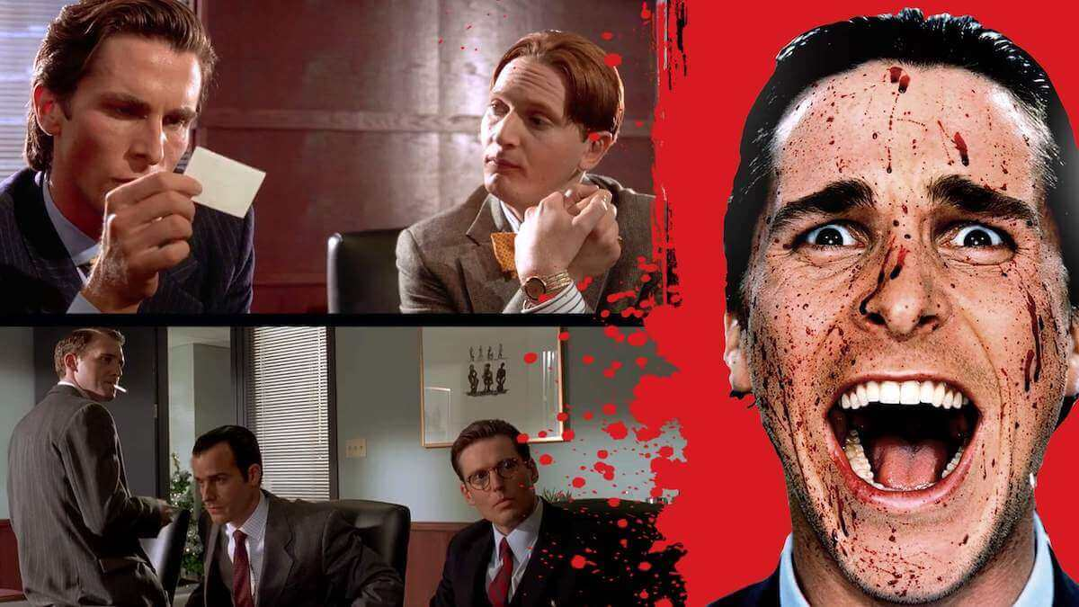 American Psycho Business Card Scene Analysis StudioBinder