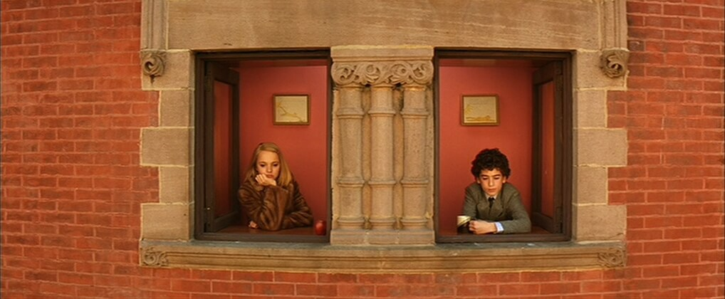Anamorphic on display · Wes Anderson cinematography