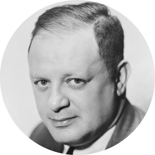 Herman J Mankiewicz Headshot StudioBinder