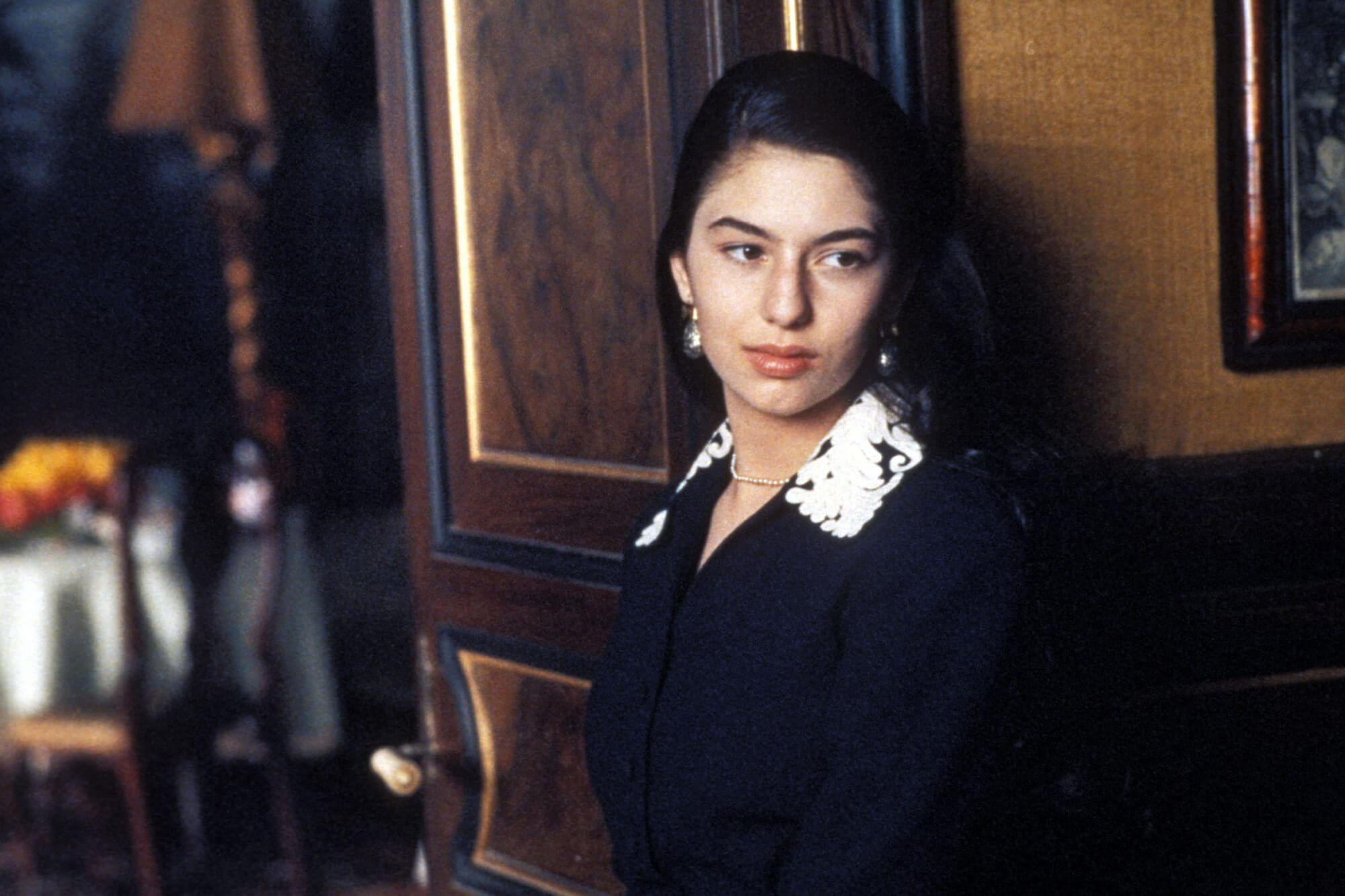 Sofia Coppola as Mary Corleone in The Godfather Coda The Death of Michael Corleone