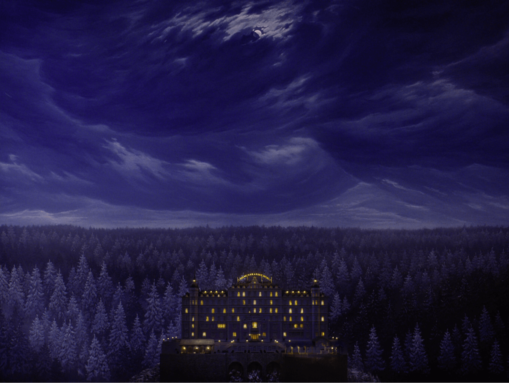 The Grand Budapest Hotel cinematography