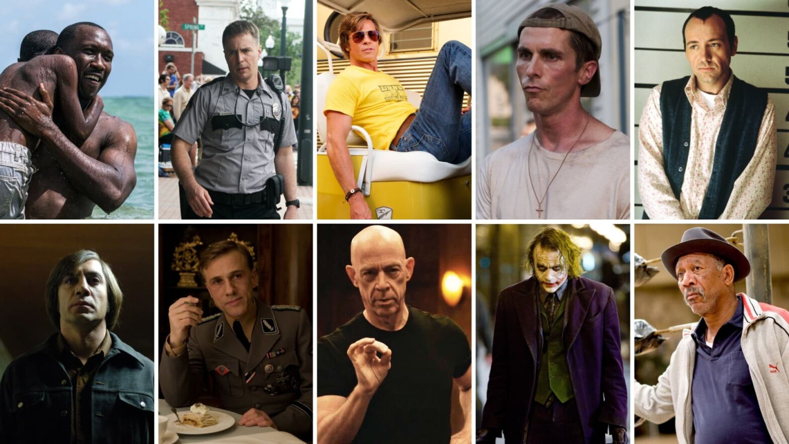 Academy Award for Best Supporting Actor — Top Winners Featured
