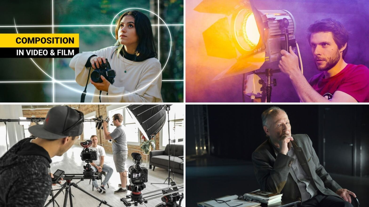 Best Cinematography Online Courses — Basic Advanced Featured