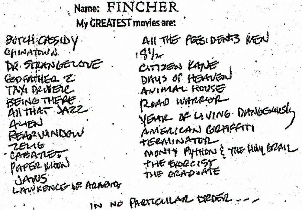 David Fincher Directing Guide David Finchers Greatest Movies of All Time