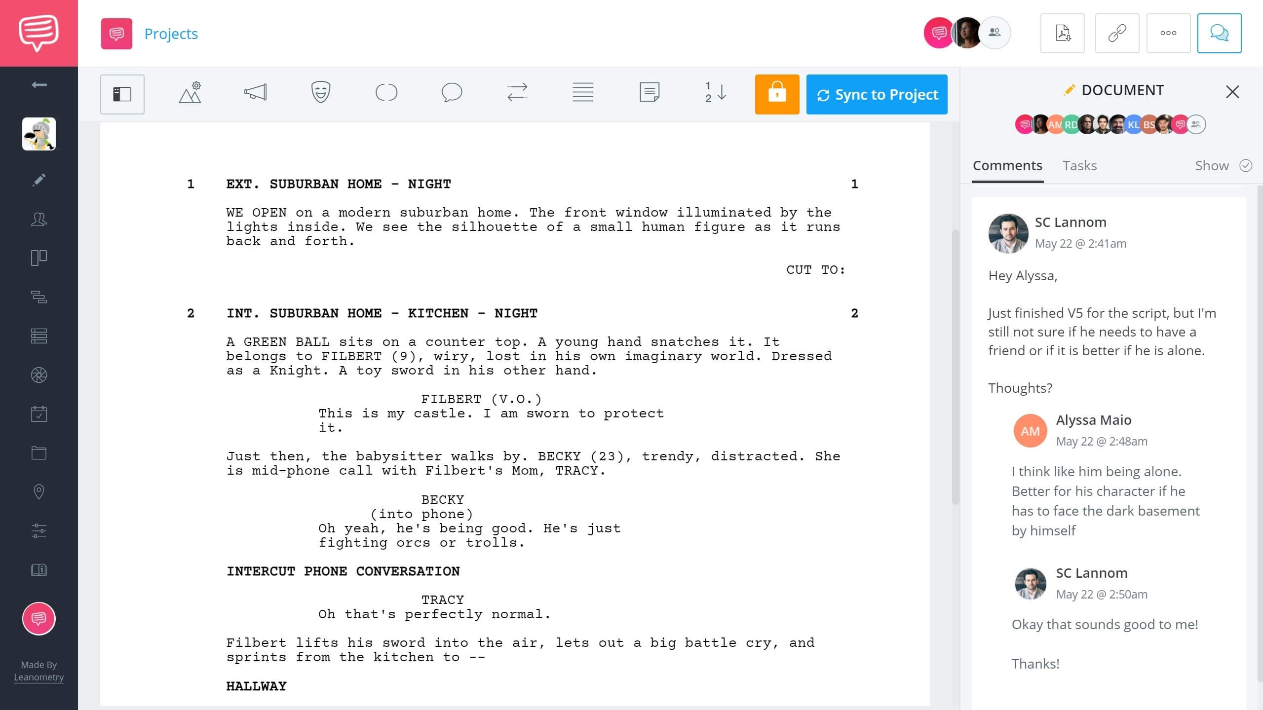 Free Scriptwriting Software for Filmmakers Scriptwriting Software Collaboration StudioBinder