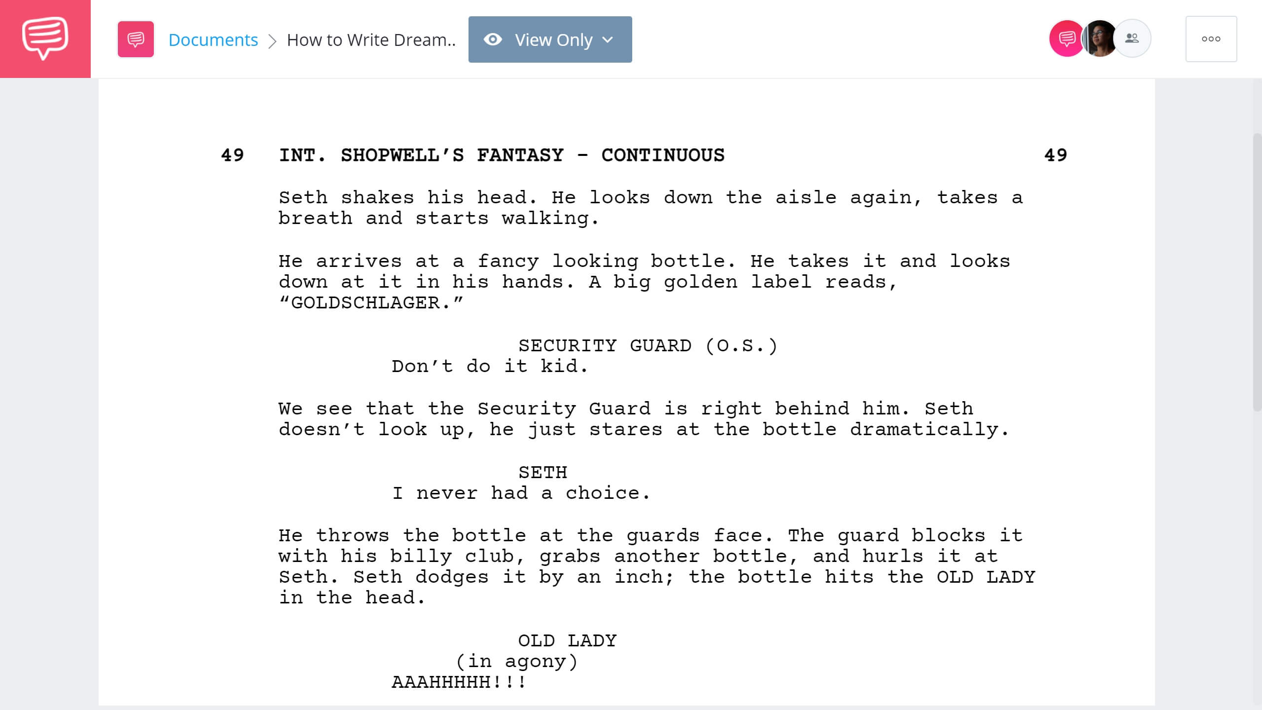 How to Write Dream Sequence Superbad Example StudioBinder Shot Listing Software