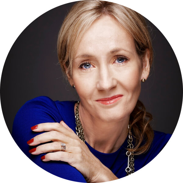 Joanne Rowling Headshot StudioBinder