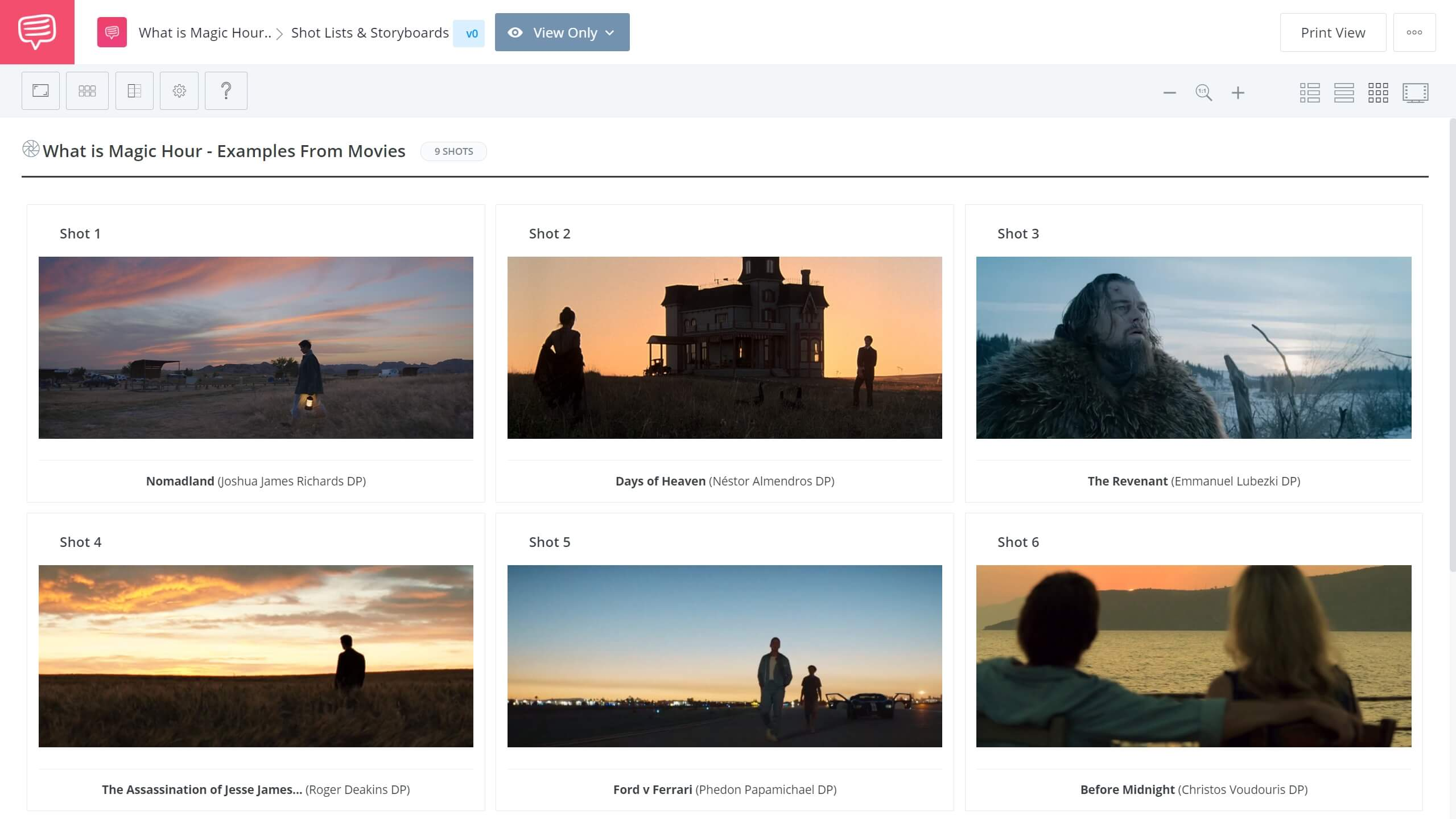 What is Magic Hour Magic Hour Movie Examples StudioBinder Shot Listing Software