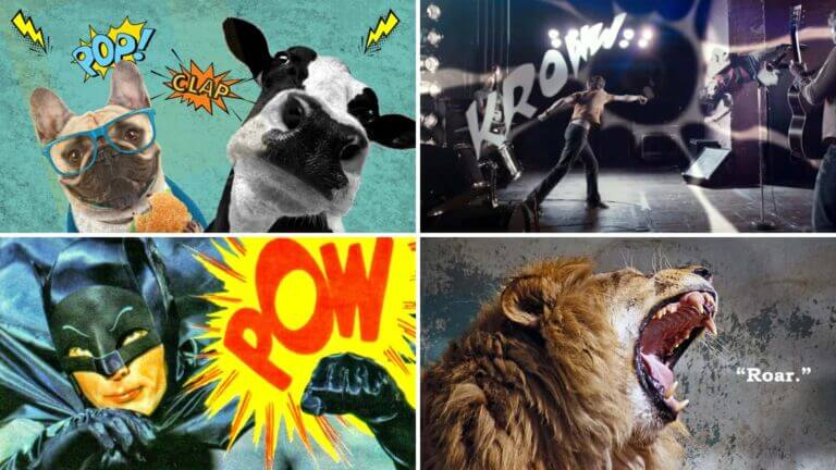 What is Onomatopoeia — Definition and Examples in Lit Film Featured