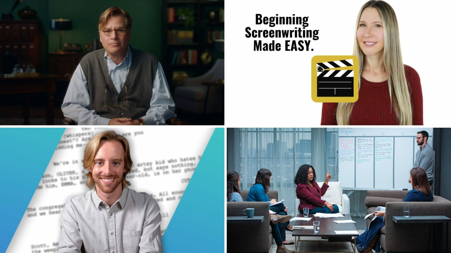Best Screenwriting Classes Online — Top Free Paid Options Featured