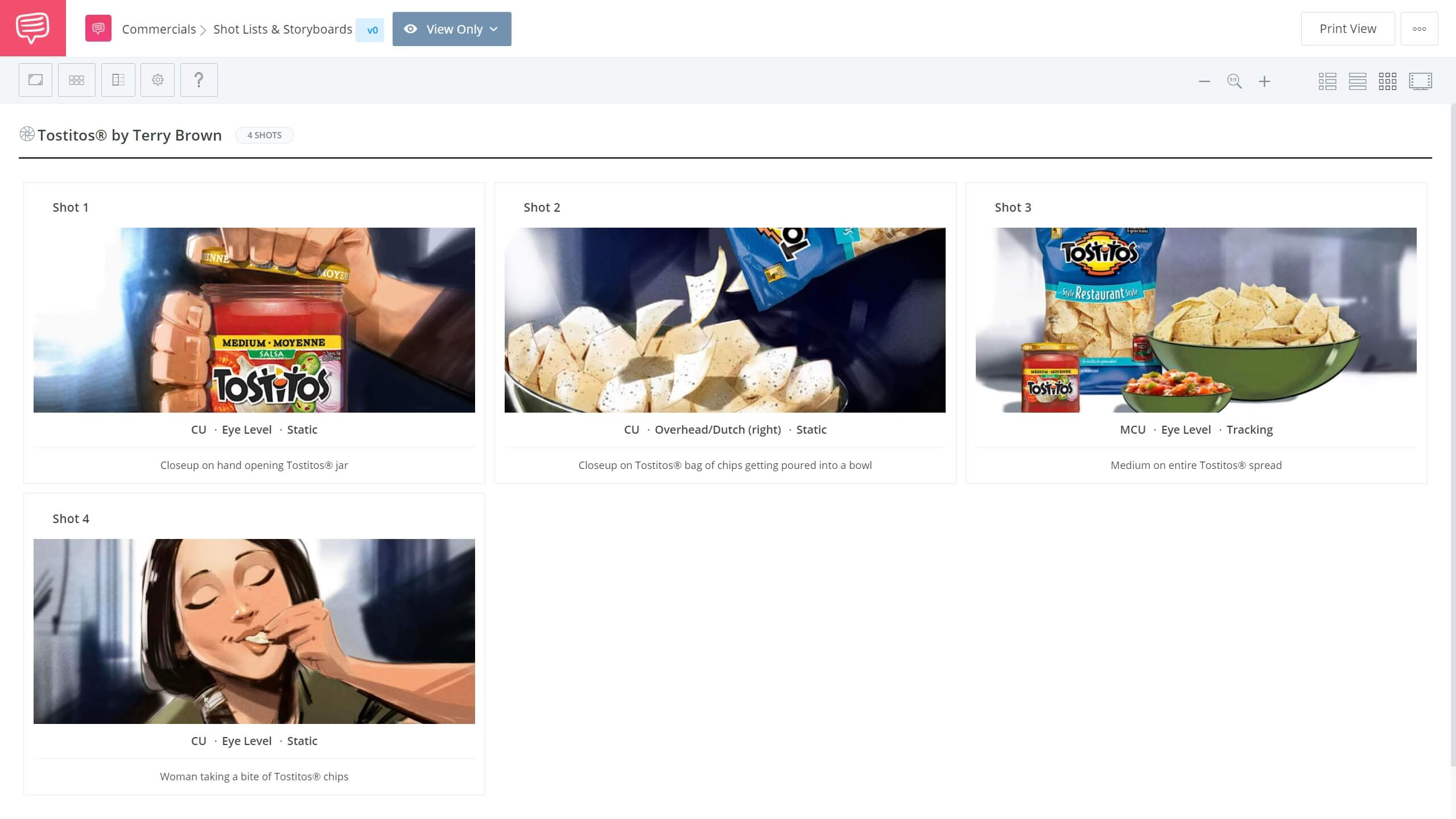 How To Make A YouTube Video Storyboard Example StudioBinder Shot Listing Software
