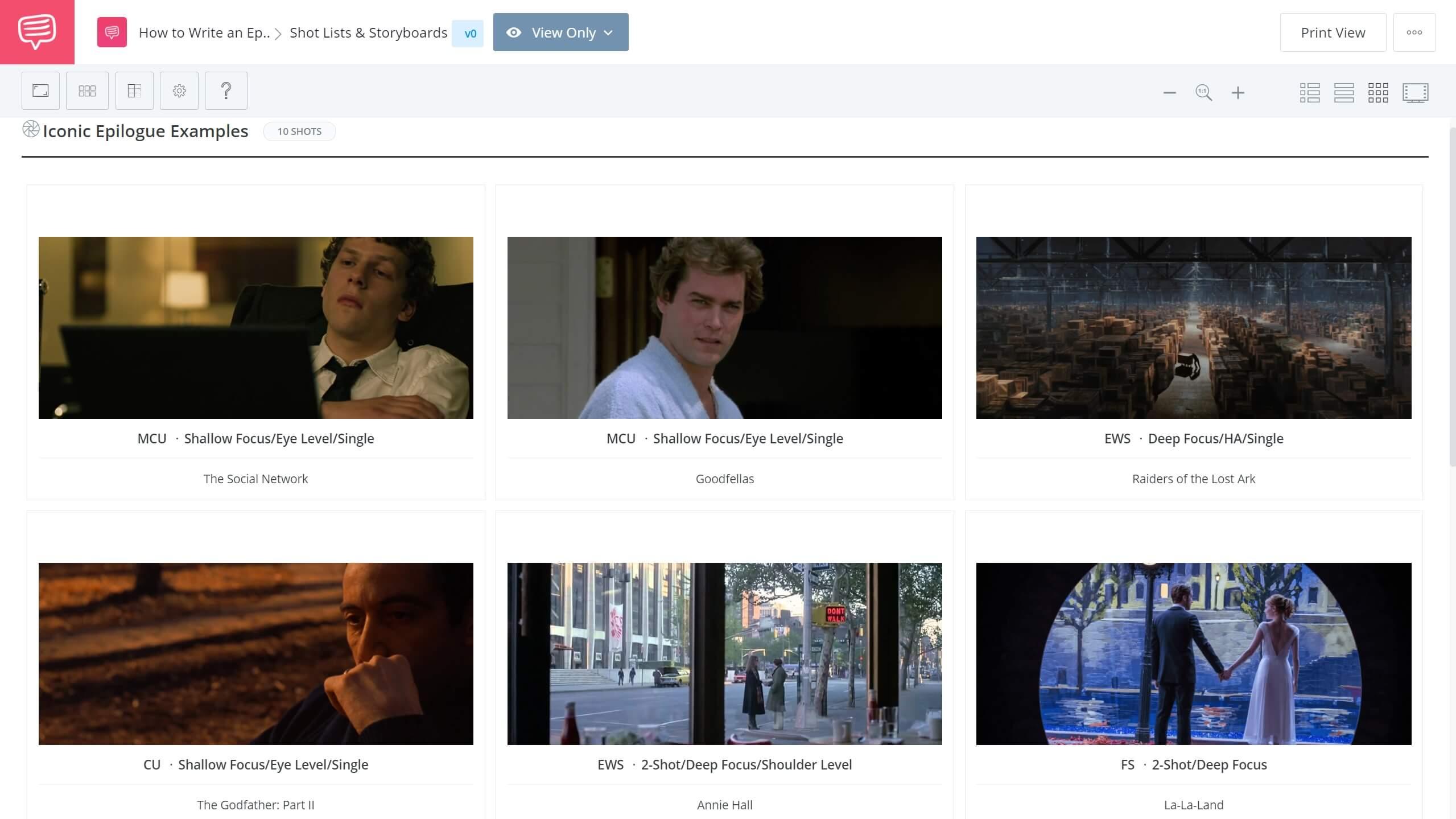 How to Write an Epilogue Iconic Epilogue Example StudioBinder Shot Listing Software