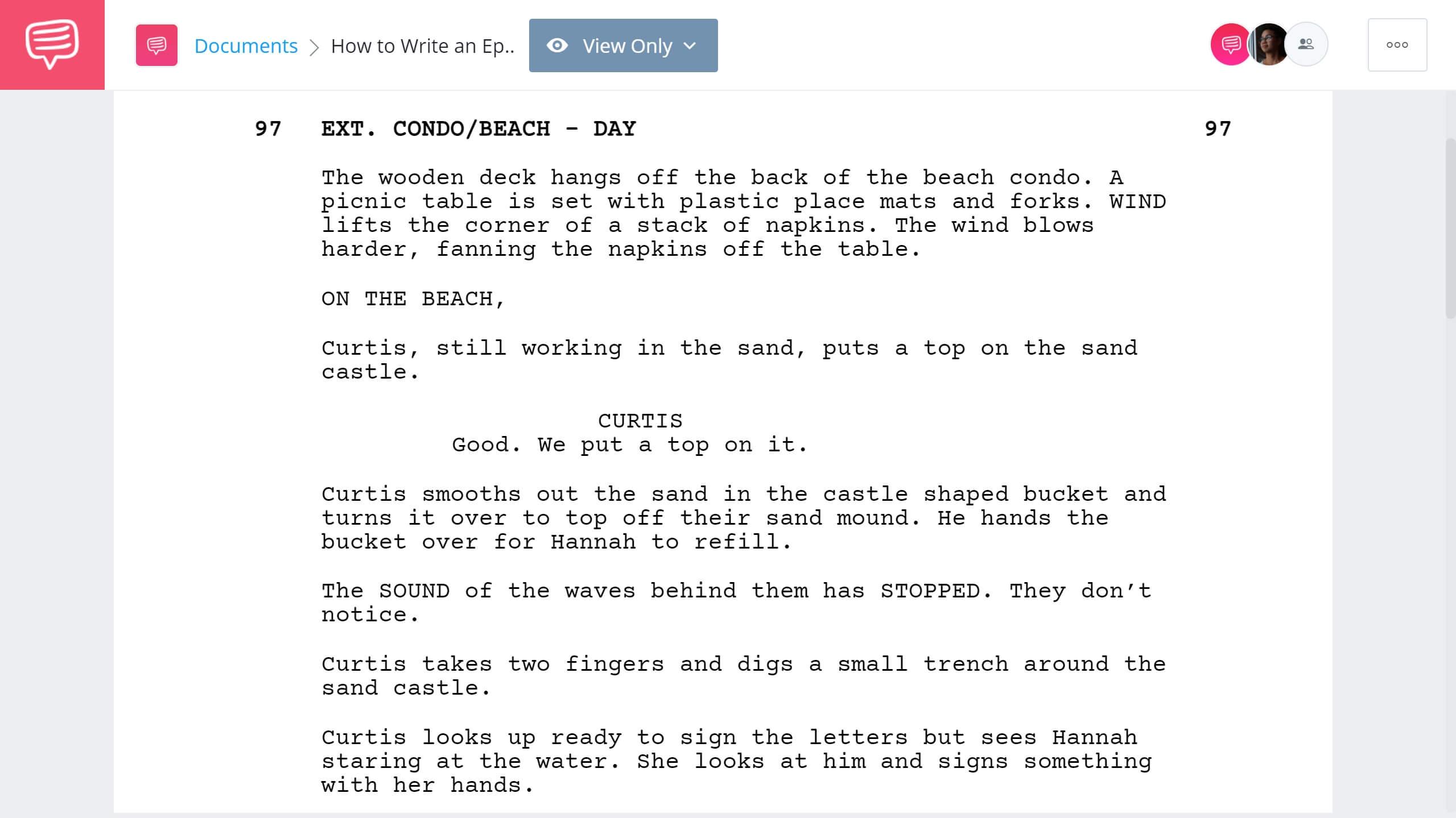 How to Write an Epilogue Take Shelter Example StudioBinder Screenwriting Software