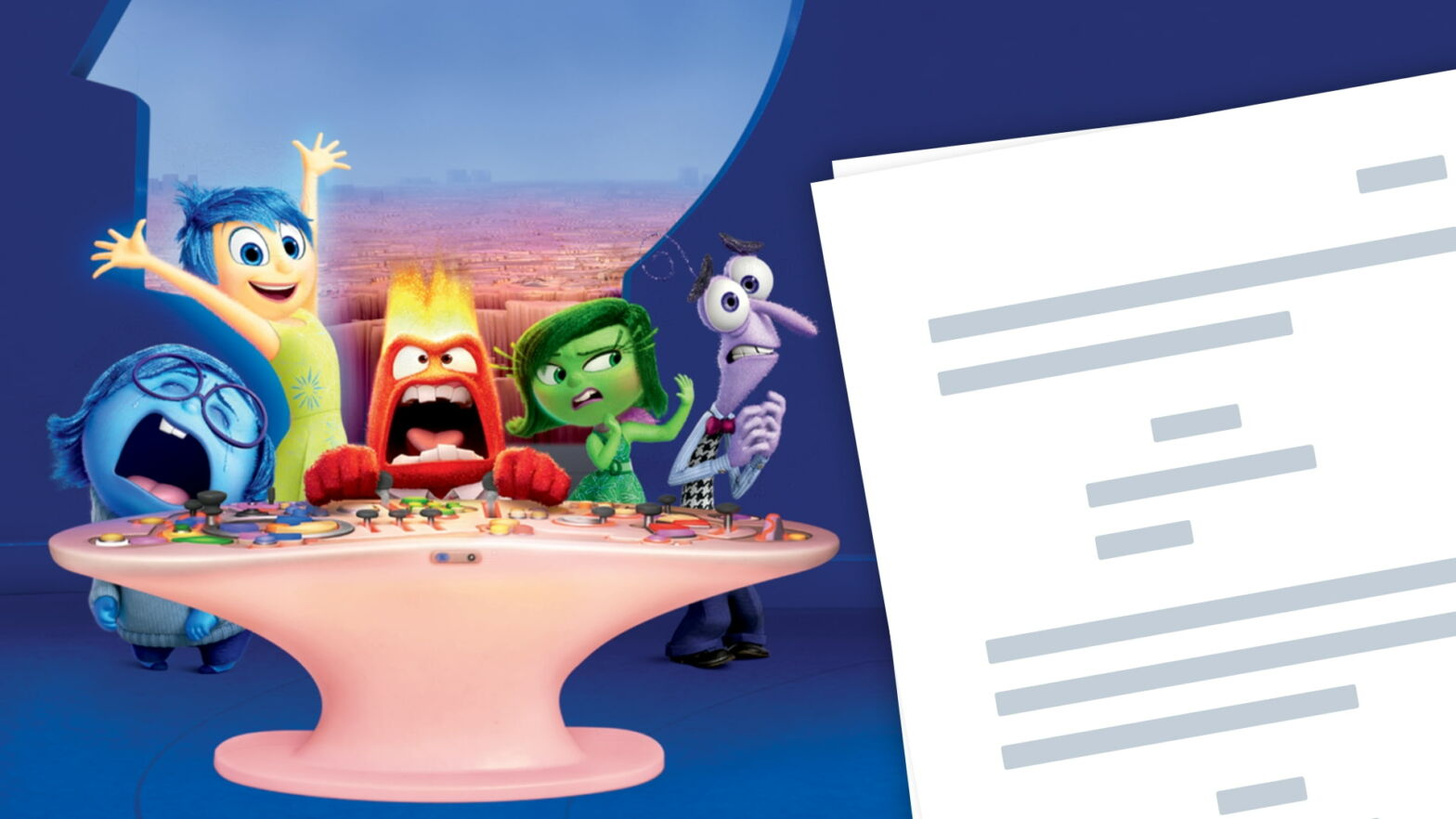 Inside Out Script PDF Download Plot Quotes and Analysis Featured