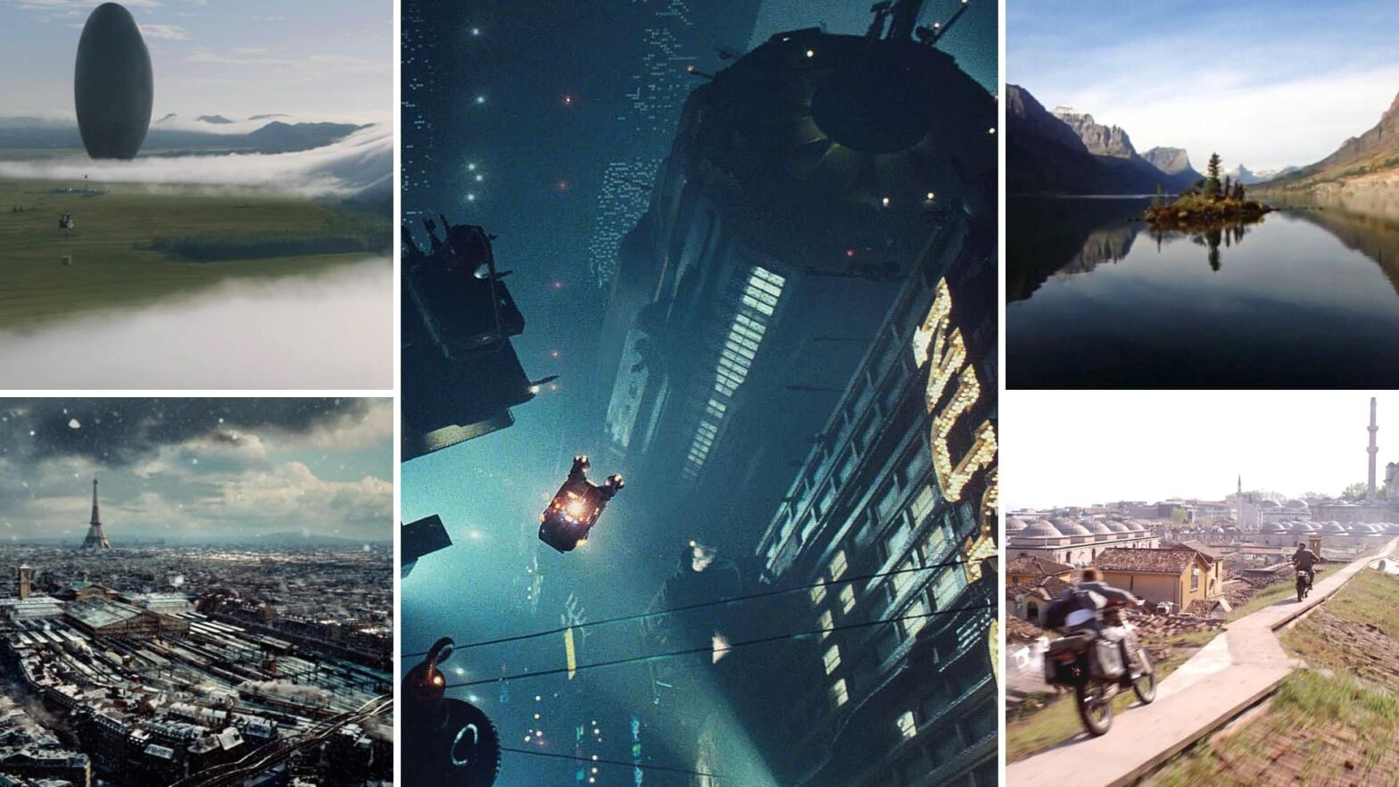 The Aerial Shot Creative Examples of Camera Movements Angles Featured
