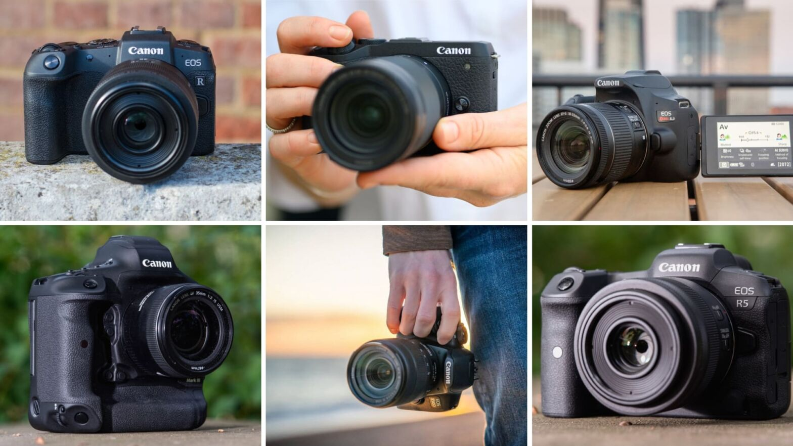 The Best Canon Cameras Featured