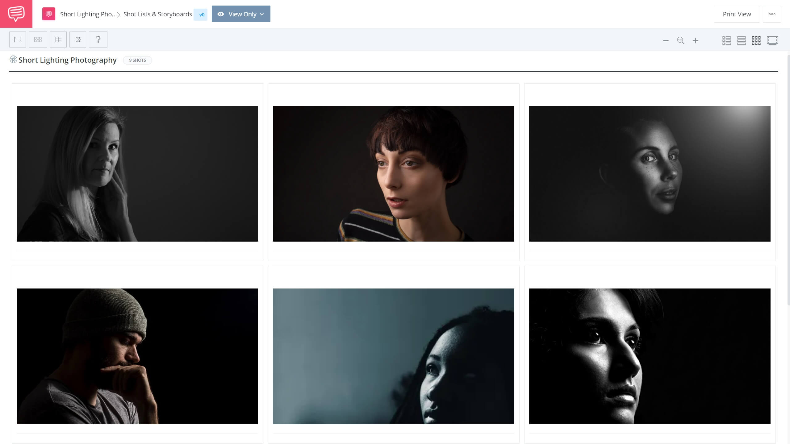 What is Short Lighting Photography Short Lighting StudioBinder Shot Listing Software