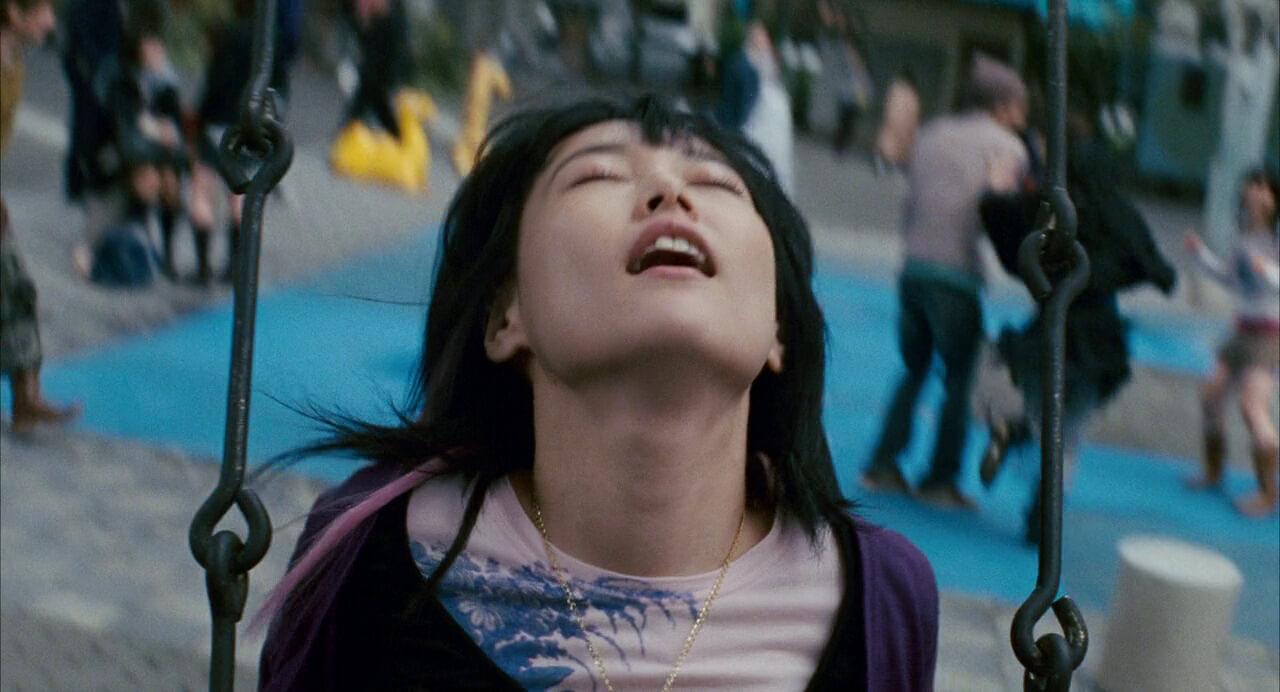 Chieko in her own world · Rodrigo Prieto cinematography
