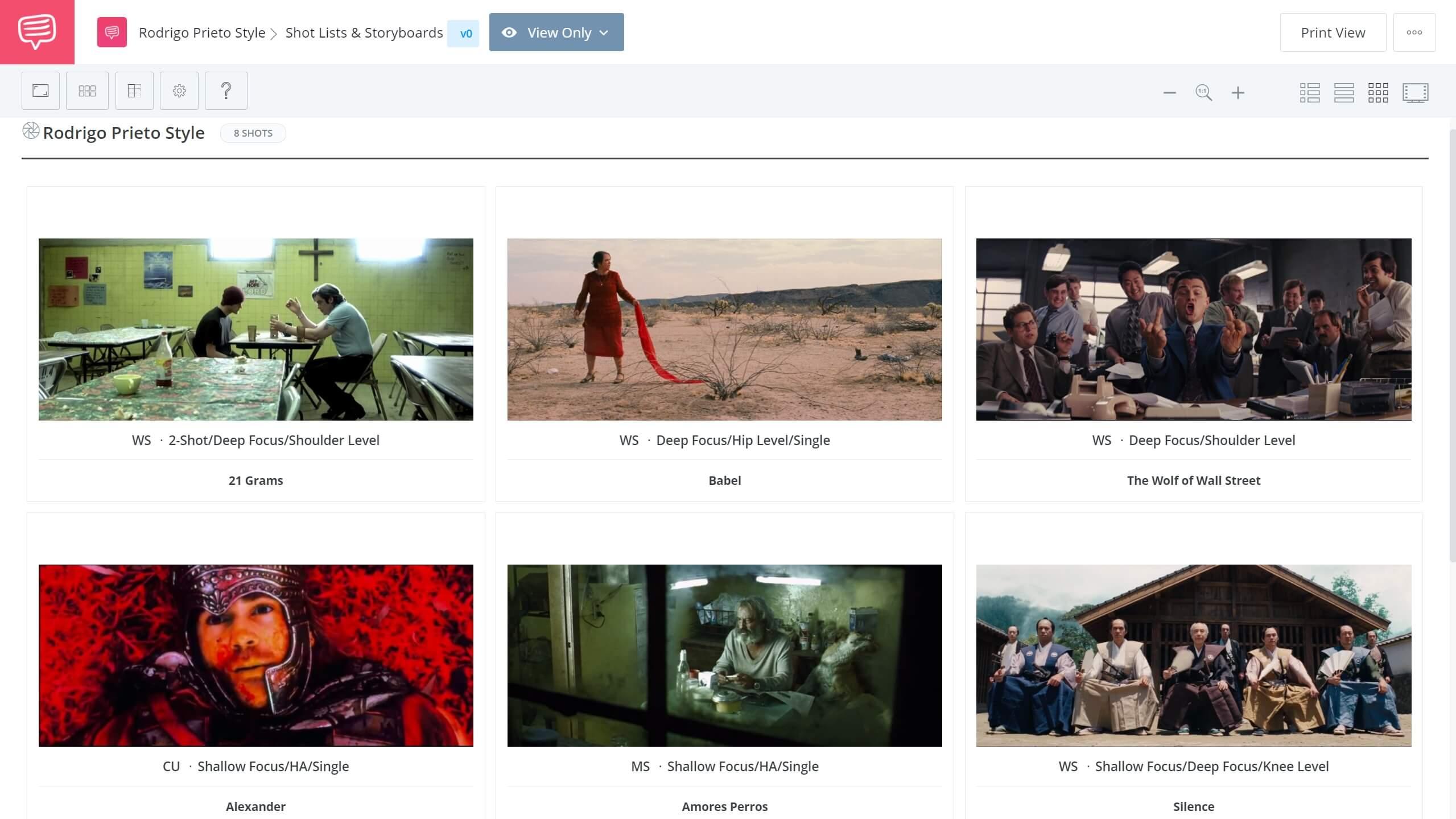 Rodrigo Prieto Cinematography Rodrigo Prieto Cinematography StudioBinder Shot Listing Software